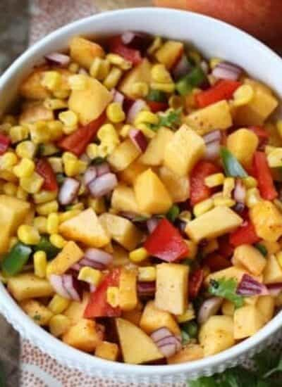 Rev up your taste buds with this zippy Sweet & Sassy Nectarine Salsa
