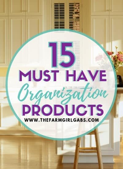 While you are tackling that Spring Cleaning List, check out these Must Have Organization Products. These organization tools work wonders. #homeorganization #MarieKondo #KonMari #organizingtips