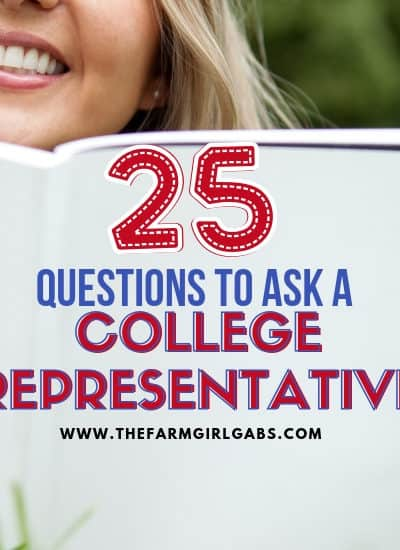 Ready to start the college search with your son or daughter? Here are 25 Questions To Ask A College Representative when you a visiting colleges. #college #collegesearch #collegeplanning #dormroom