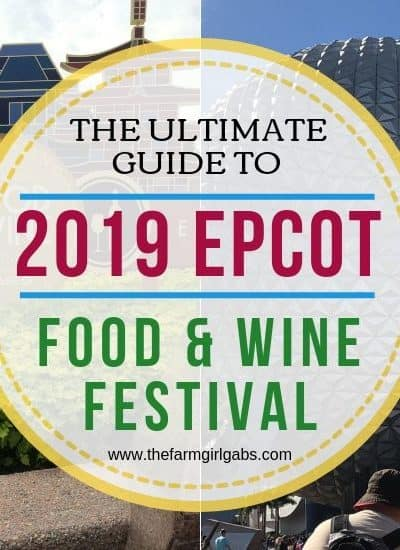 Planning a trip to Epcot's Food and Wine Festival this year? Here are a few top Tips For Visiting The Epcot Food And Wine Festival at Walt Disney World.