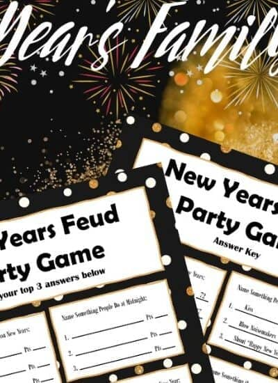 New Year's FAmily Feud