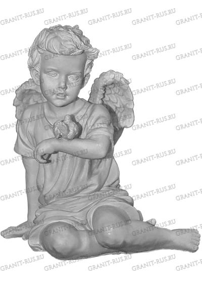 Ангел с птичкой СК 005