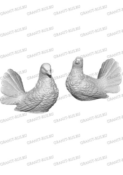 Голубь и голубка СК 021