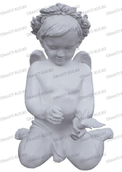 Скульптура девочки с венком  CK 048