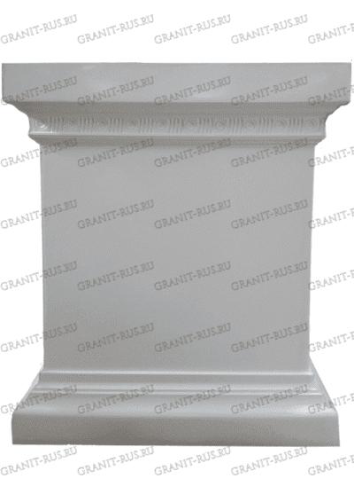 тумба под скульптуру Скульптура из литьевого мрамора на могилу