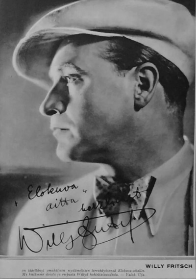 "Artikel im lettischen Magazin ""Elokuva-Aitta"", 1932"