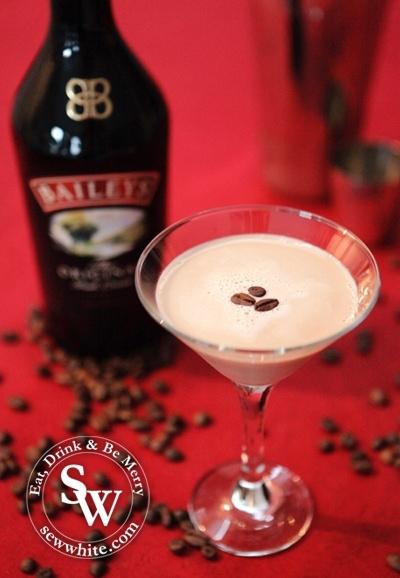 Sew White Baileys Flat White Martini