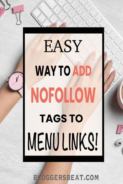 nofollow navigation links