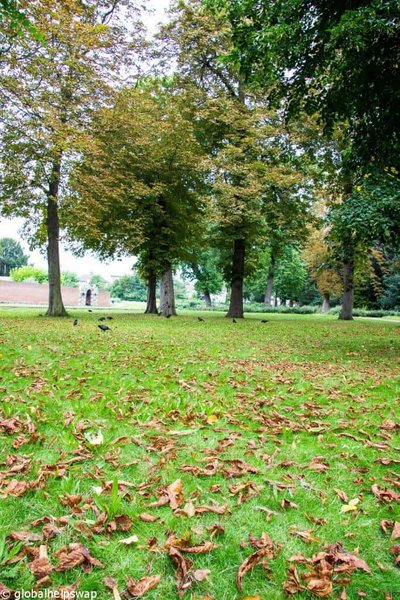 parks in East London
