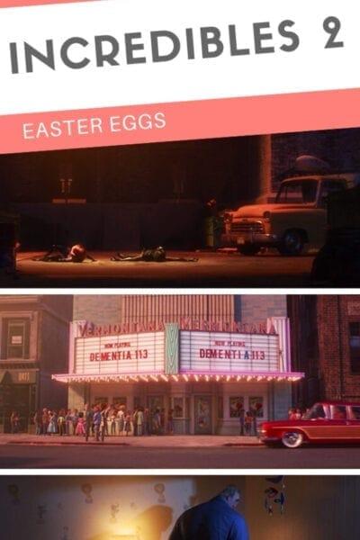 All of Disney Pixar Incredibles 2 Easter Eggs