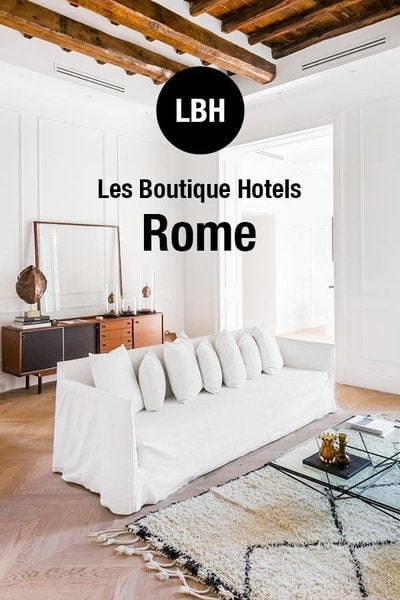 Best Boutique Hotels in Rome