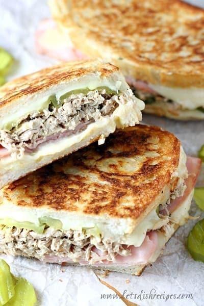 Slow Cooker Cuban Sandwiches