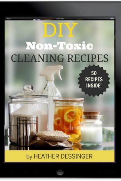DIY Non-Toxic Cleaning Recipes by the Mommypotamus | SimplePureBeauty.com