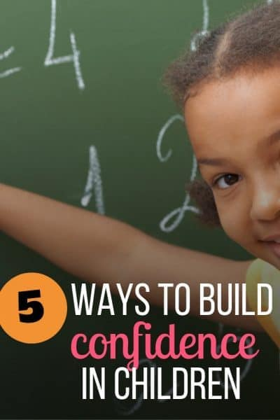 build confidence in kids