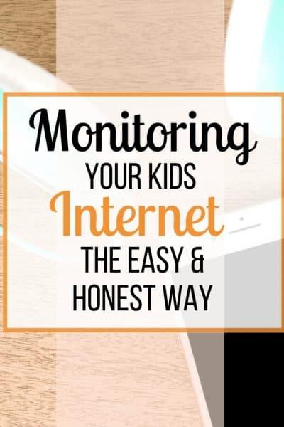 monitor kids internet