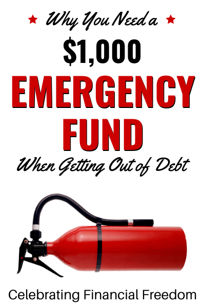 How Do You Get Out of Debt Part 3- Create a $1,000 Emergency Fund