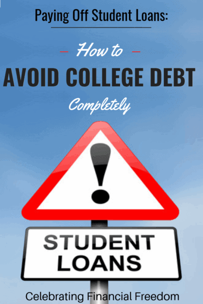 Paying Off Student Loans- How to Avoid College Debt Completely