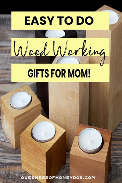 Woodworking Projects for Mother's Day - pin