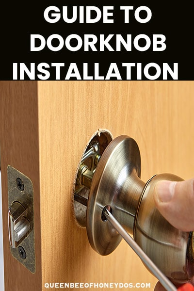 doorknob installation