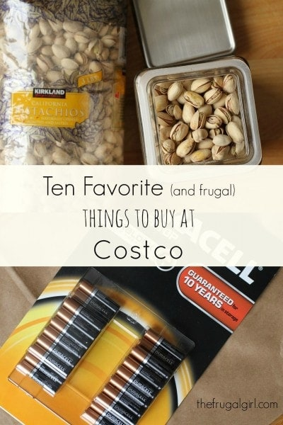 The Frugal Girl's Ten Favorite Things to Buy at Costco