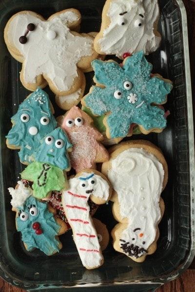 fg Christmas cookies