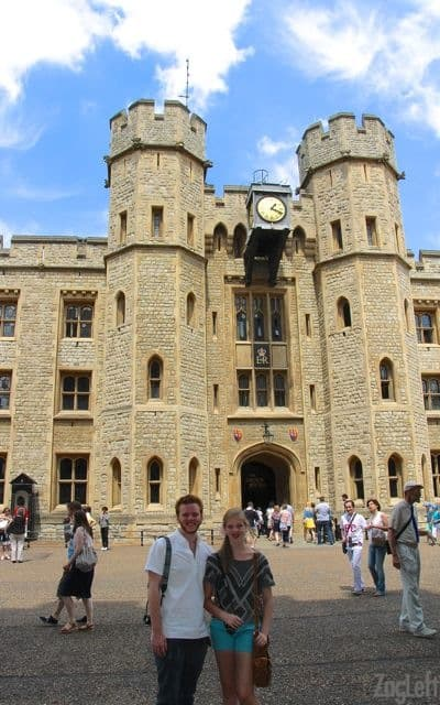 The Tower of London | Crown Jewels | ZagLeft