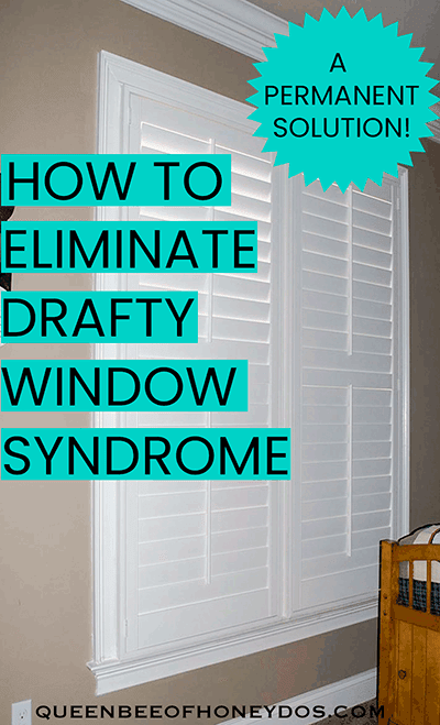 how to insulate drafty windows pin