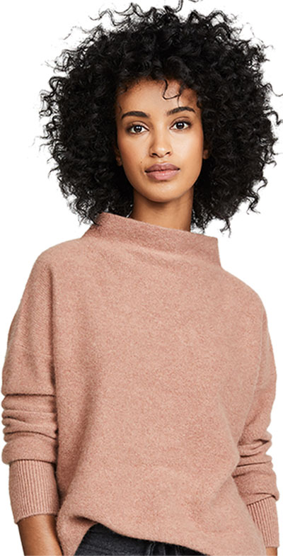cashmere sweater from Vince | 40plusstyle.com