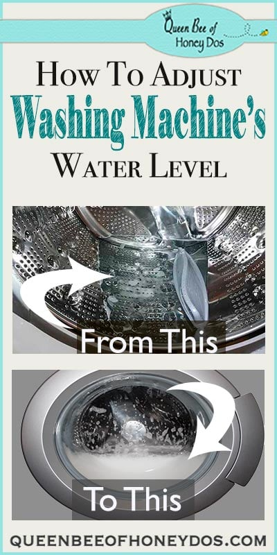 How To Adjust Washing Machine Water Levels - I was tired of my clothes not coming out clean because of a too conservative water sensor. This is how I fixed it!