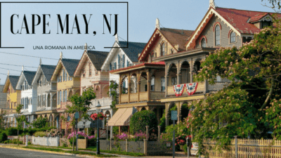 cape may una romana in america per parole sparse