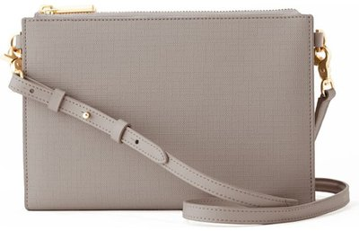 Dagne Dover coated canvas clutch/wallet | 40plusstyle.com