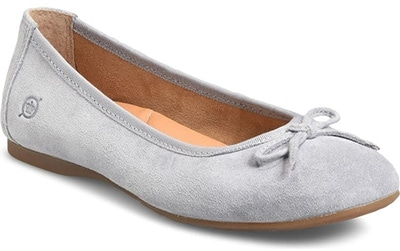 Shoes with arch support - Børn Brin Ballet Flat | 40plusstyle.com