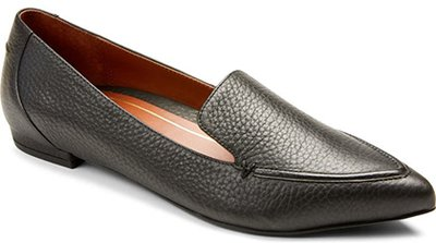 Shoes with arch support - Vionic Noah Pointy Toe Loafer | 40plusstyle.com