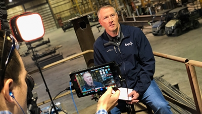 Video Production at Beck Steel - Cre8ive