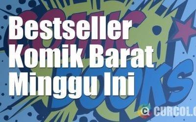 Daftar BestSeller Komik Barat Periode 21 Agustus 2016