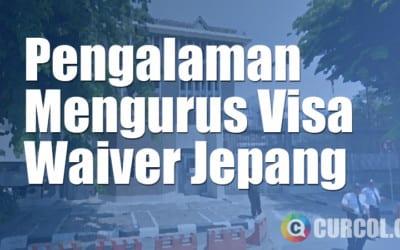 Pengalaman Mengurus Visa Waiver Jepang di Konjen Jepang Surabaya