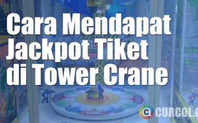 Cara Mendapatkan Jackpot Tiket di Mesin Arcade Tower Crane