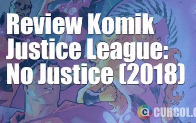 Review Komik Justice League: No Justice #1-4 (2018)