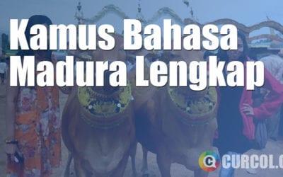 Kamus Bahasa Madura Lengkap