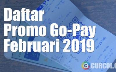 Daftar Promo Go-Pay Bulan Februari 2019 di Surabaya