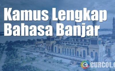 Kamus Bahasa Banjar Lengkap