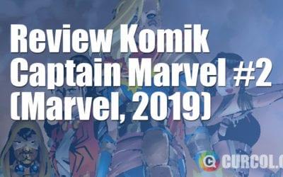 Review Komik Captain Marvel #2 (Marvel, 2019)