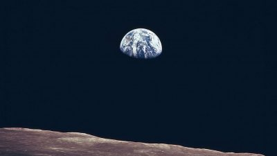 Image: View of Earth from the moon