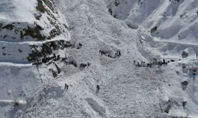 Chitral avalanche