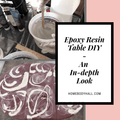 Epoxy Resin Table DIY - An In-depth Look - Homebody Hall