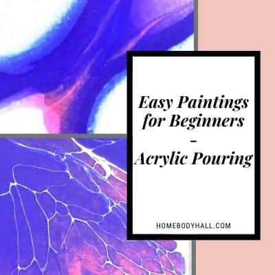 Easy Paintings for Beginners - Acrylic Pouring