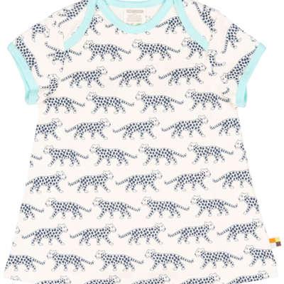 loud + proud Jerseykleid Gepard ultramarin bei Kleidermarie.de_größer