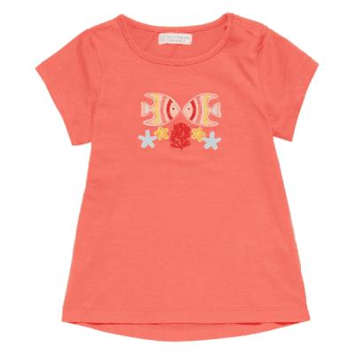 T-Shirt Mahima koralle GOTS bei Kleidermarie