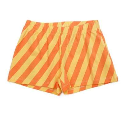 Liv+Lou Rosy shorts candy stripes yellow orange
