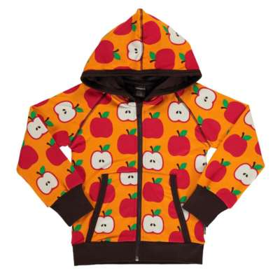 Maxomorra Cardigan Hoody classic apple